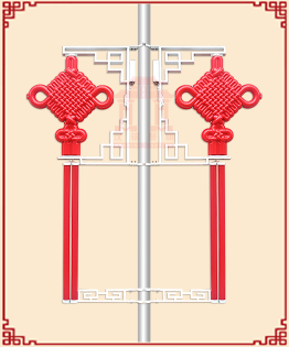 LED中国结路灯厂家