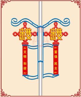 中国结造型灯